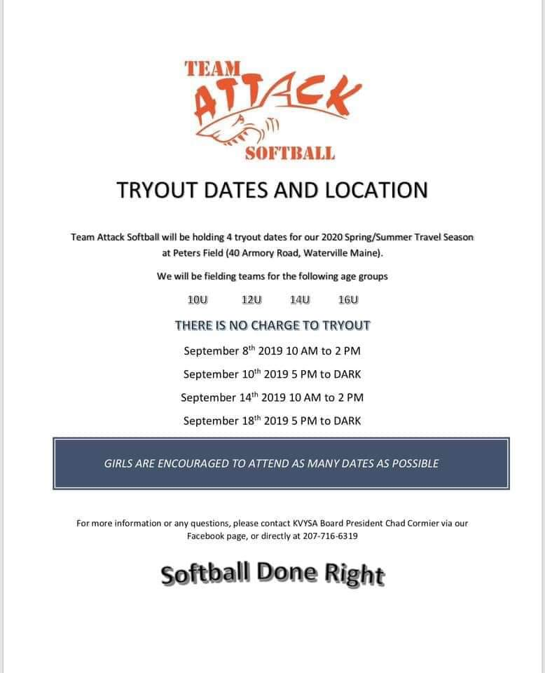 JO Softball Information - Maine Amateur Softball Association